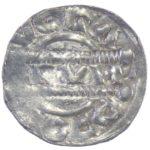 Денарий. Фризия. Бруно lll 1050-1057 гг.