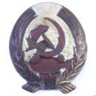 Кокарда ГУЛАГ НКВД СССР 30-е годы