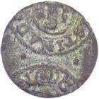 Шведская Ливония 1 солид 1632-1654 гг. королева Кристина