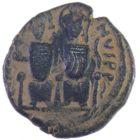 Византия. Юстин ll и Софья. Фоллис 565-578 гг.