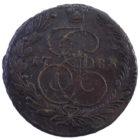 5 копеек 1783 год