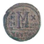 40 нуммий.Маврикий Тиберий.Византия(582-602гг.)