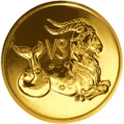 50 рублей 2003 год «Козерог» арт 31310