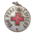 Медаль.Красный Крест За спасение жизни.Эстония 1925-1940 гг.