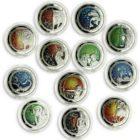 Набор монет «Знаки Зодиака.»5 ливров 2013 Ливан.12шт.